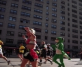 Lezard au marathon de new york