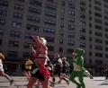 Lezard au marathon de new york