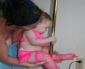 Le pole dancing pour baby !!!